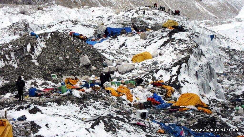 Mont Everest Deponija