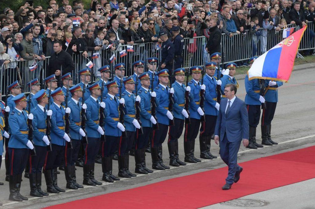 Vučić: Čuvaćemo mir, ali smo spremni da se branimo ako bude trebalo; Foto: Ministarstvo odbrane