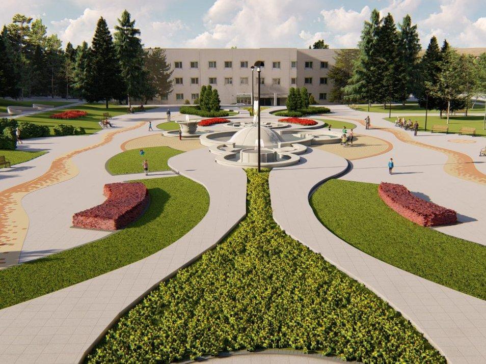 Radovi na obnovi Trga fontana do jula; Foto: GO Niška Banja