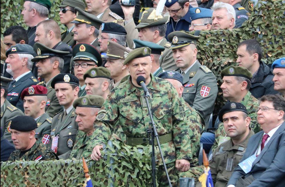 Prikaz sposobnosti Vojske Srbije i Ministarstva unutrašnjih poslova; Foto: Ministarstvo odbrane