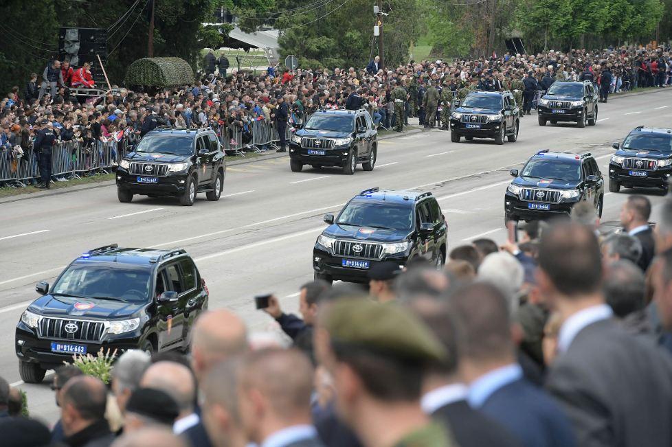 Vozila MUP-a; Foto: Ministarstvo odbrane
