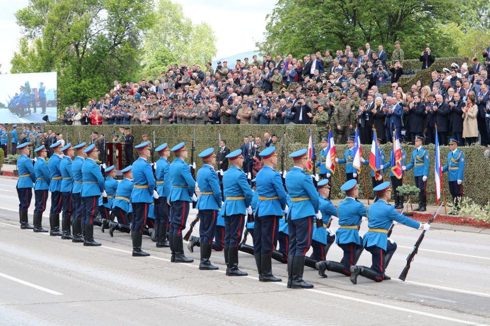 Vojno-policijska parada u Nišu; Foto: Ministarstvo odbrane