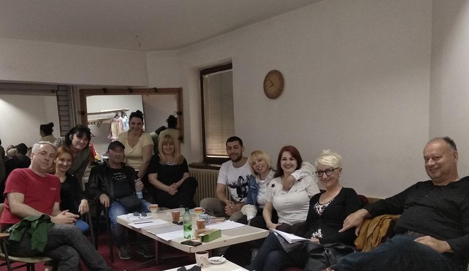 """Prva proba predstave """"Snežna Kraljica""""; Foto: Pozorište lutaka Niš"""