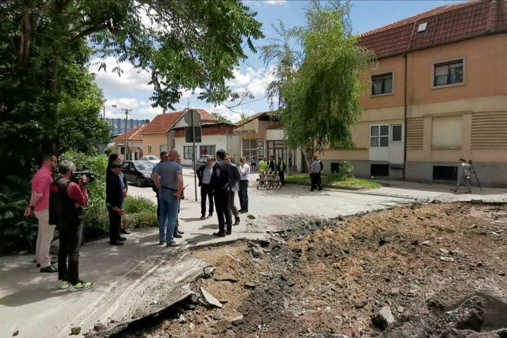 Šumadijska ulica gotova do sredine juna ; Foto: Grad Niš