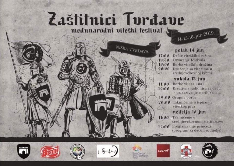 """Program festivala; Foto: Viteška družina """"Zmajeva griva"""""""