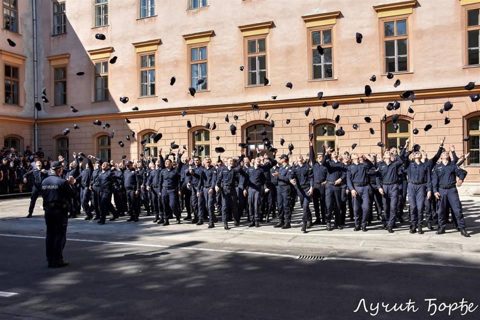 Promocija 15. klase Centra za osnovnu policijsku obuku; Foto: Centar za osnovnu policijsku obuku