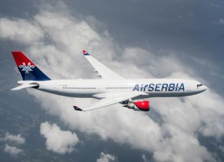 Airbus A330; Foto. Air Serbia FB