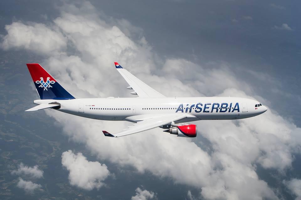 Airbus A330; Foto. Air Serbia FB
