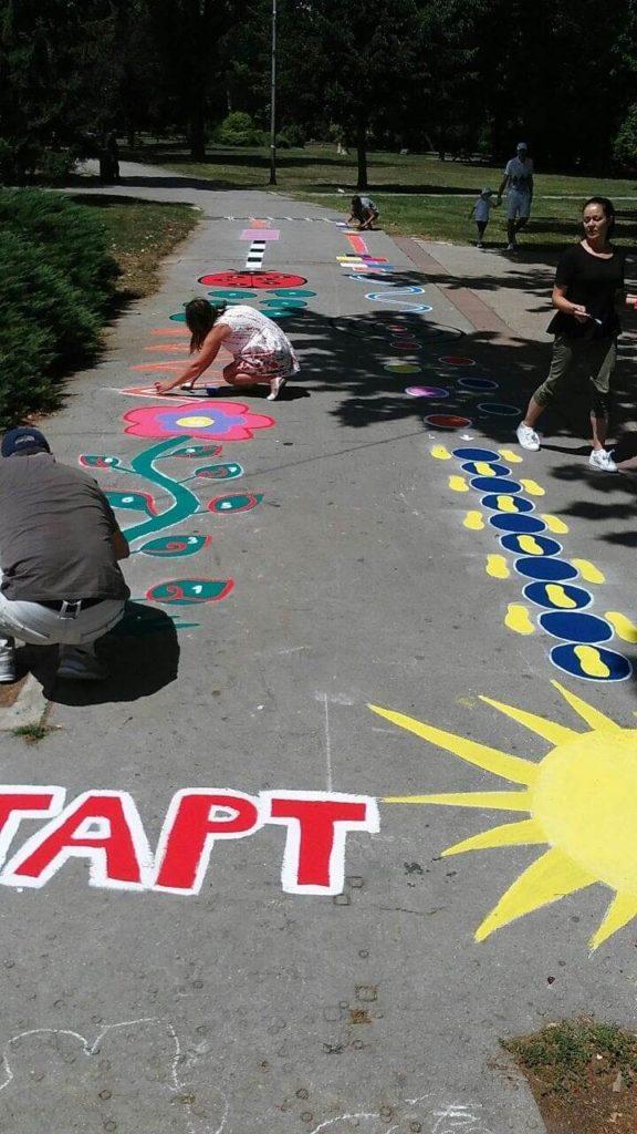 Pripreme za letnje igre Dečijeg centra u Nišu; Foto: Novinari Online