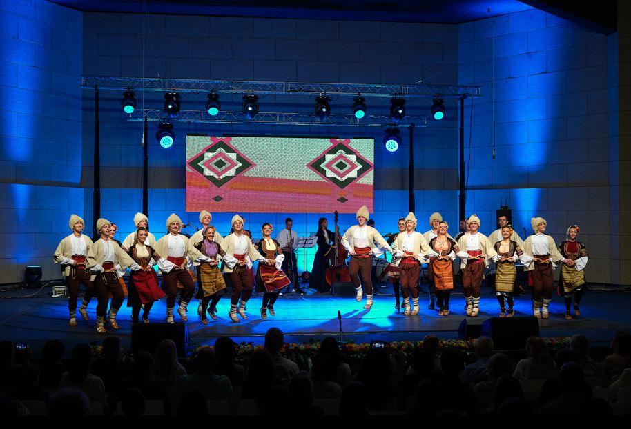 Zajednički koncert ansambala iz Novog Sada, Kragujevca, Niša i Indonezije; Foto: SKC Niš