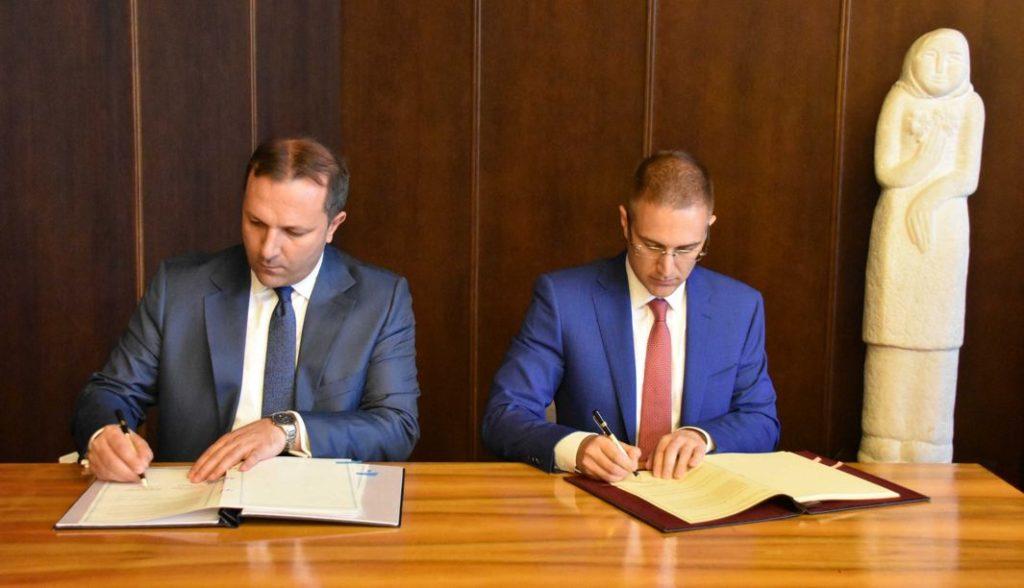 Stefanović i Spasovski potpisali Sporazum o uspostavlјanju zajedničkih kontrola na Graničnom prelazu Preševo – Tabanovci