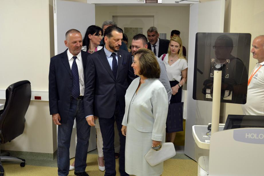 Donacija Centru za radiologiju Kliničkog centra Niš
