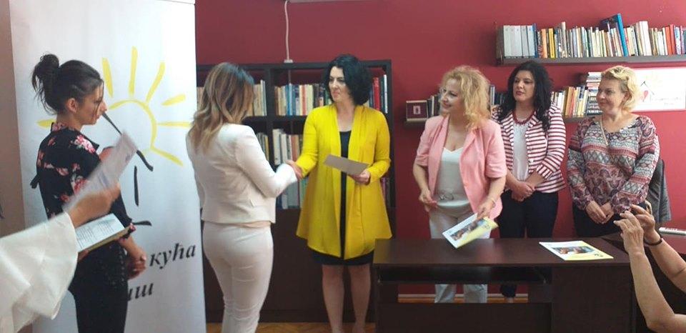 Dodela diploma u Sigurnoj kući; Foto: Marija Ranđelović