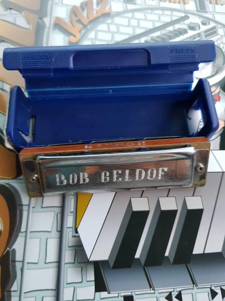 Nišville jazz muzej, Usna harmonika Boba Geldofa