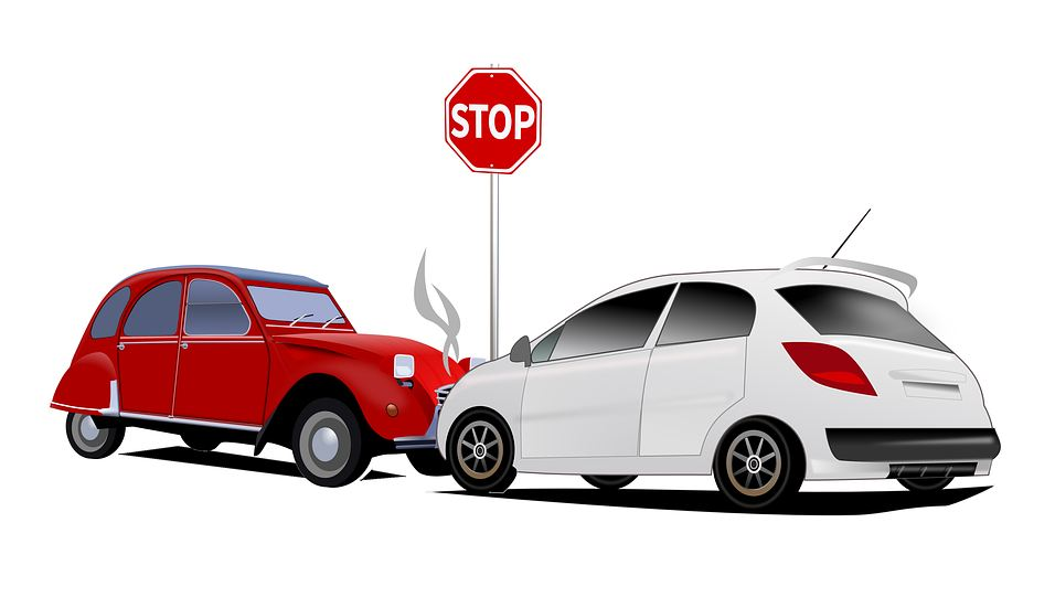 Ilustracija saobracajna nezgoda