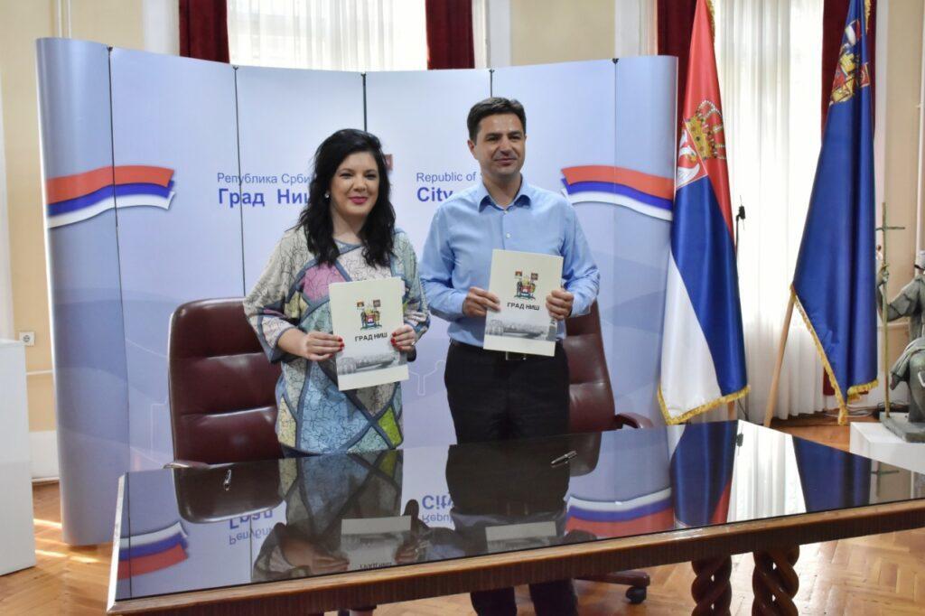 """Memorandum o saradnji JKP """"Mediana"""" i Narodnog univerziteta u Nišu, Foto: Grad Niš"""