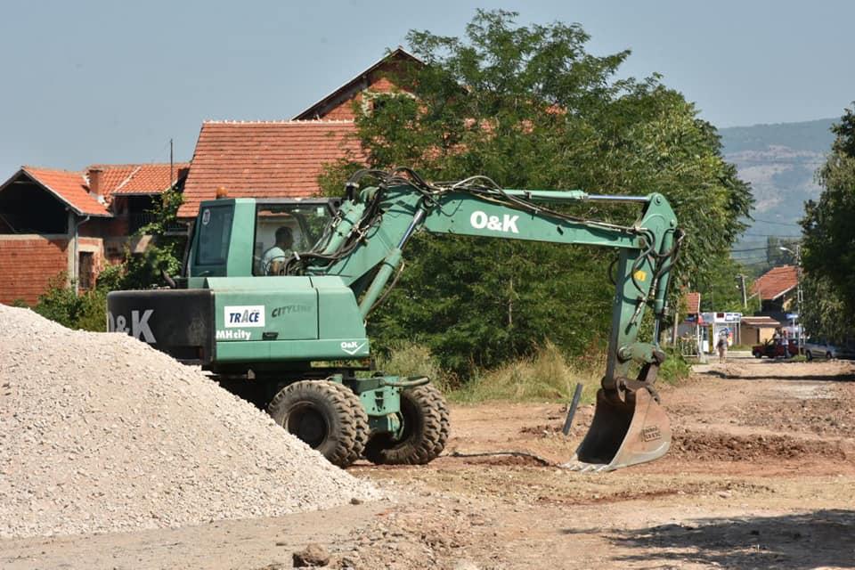 U Brzom Brodu počela rekonstrukcija Ulice 29. novembar; Foto: Grad Niš