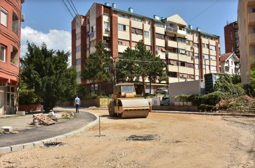 Rekonstrukcija Ulice Stanoja Bunusevca pri kraju
