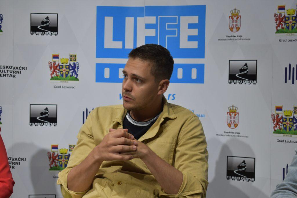 Miloš Biković na LIFFE festivalu; Foto: KomunikArt