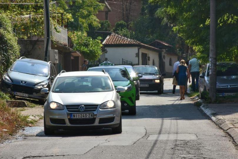 Konvanlučka ulica, počeli radovi; Foto: Grad Niš