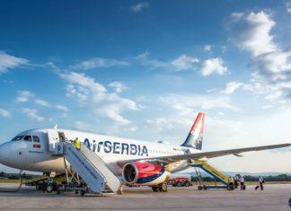 Air Serbia; Foto: Aerodrom Niš Konstantin Veliki