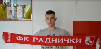 Nikola Jovanović, Foto: FK Radnički Niš