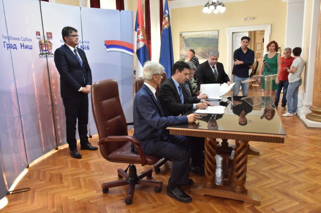 Potpisan Protokol o saradnji između Grada Niša i Osnovnog i Višeg suda u Nišu