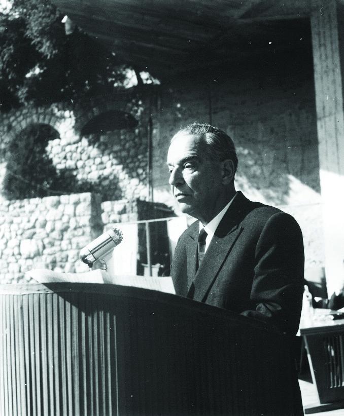 Andrić u Nišu, Otvaranje UNI, 1965; Foto: Narodni muzej Niš
