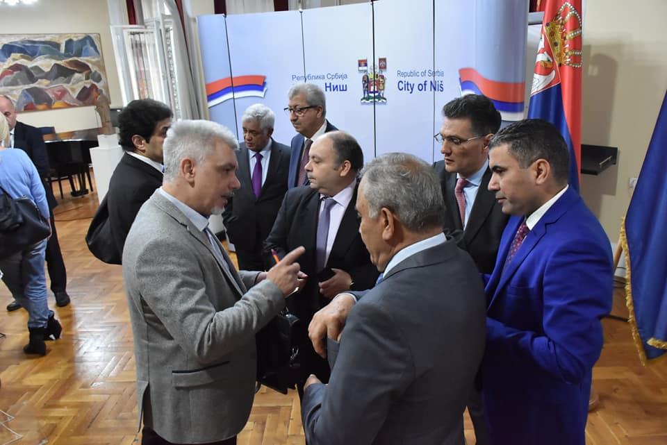Osam ambasadora u Nišu; Foto: Grad Niš