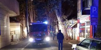 Požar u Balkanskoj; Foto: Novnari Online