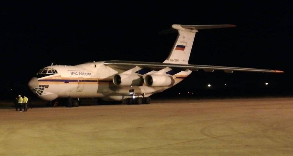 """Ruski avion """"Iljušin"""" sleteo na niški aerodrom, Foto: Novinari Online"""