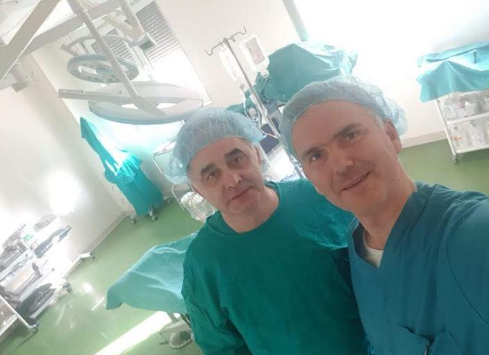 prof. dr Nenad Arsović i prof. dr Dušan Milisavljević, KC Niš