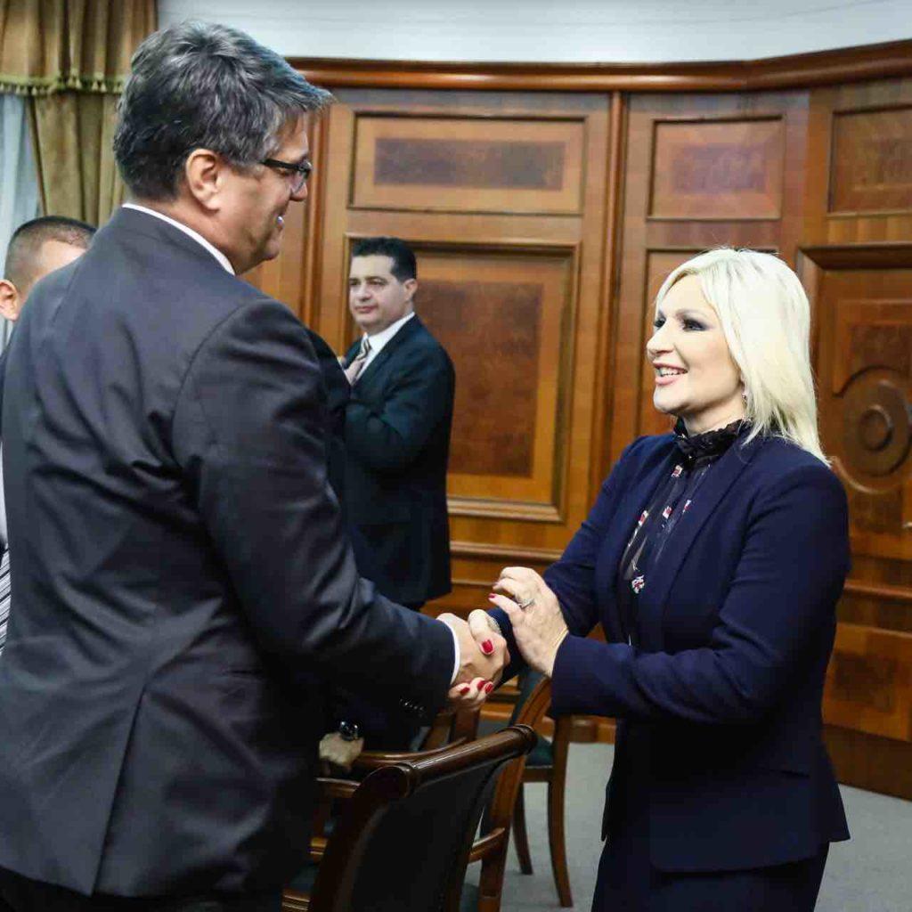 Sastanak gradonačelnika Niša sa minisatrkom Zoranom Mihajlović