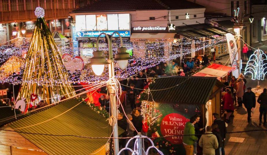 Niš u srcu - Ulica otvorenog srca na Trgu Stevana Sremca od 27. decembra do 1. januara