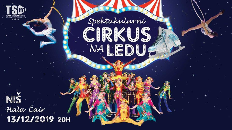 Spektakularni Cirkus na Ledu; Foto: Team System Music