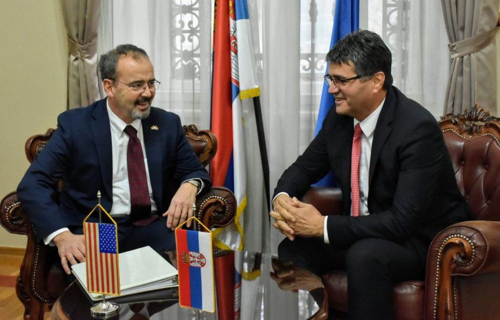 Američki ambasador u poseti Nišu; Foto: Grad Niš