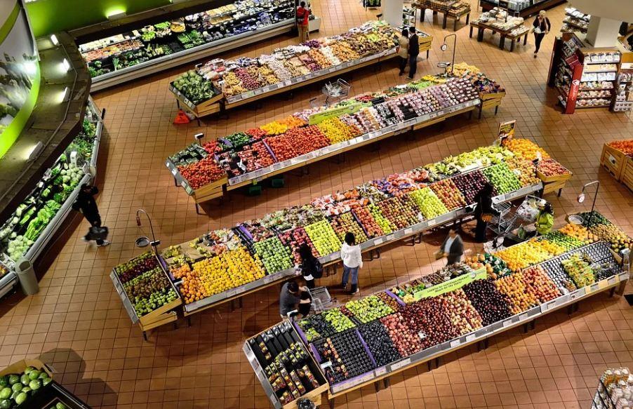 Supermarket, ilustracija