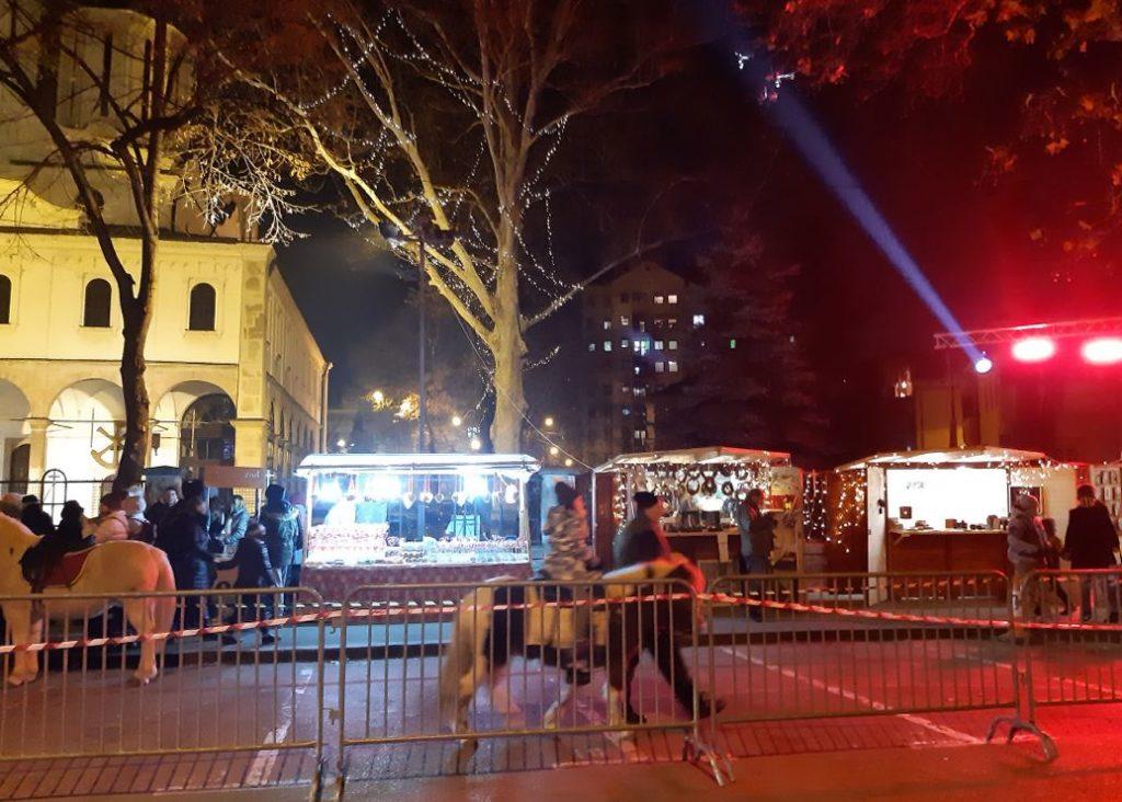 """Otvaranje """"Božićnog kutka""""; Foto: GO Medijana"""