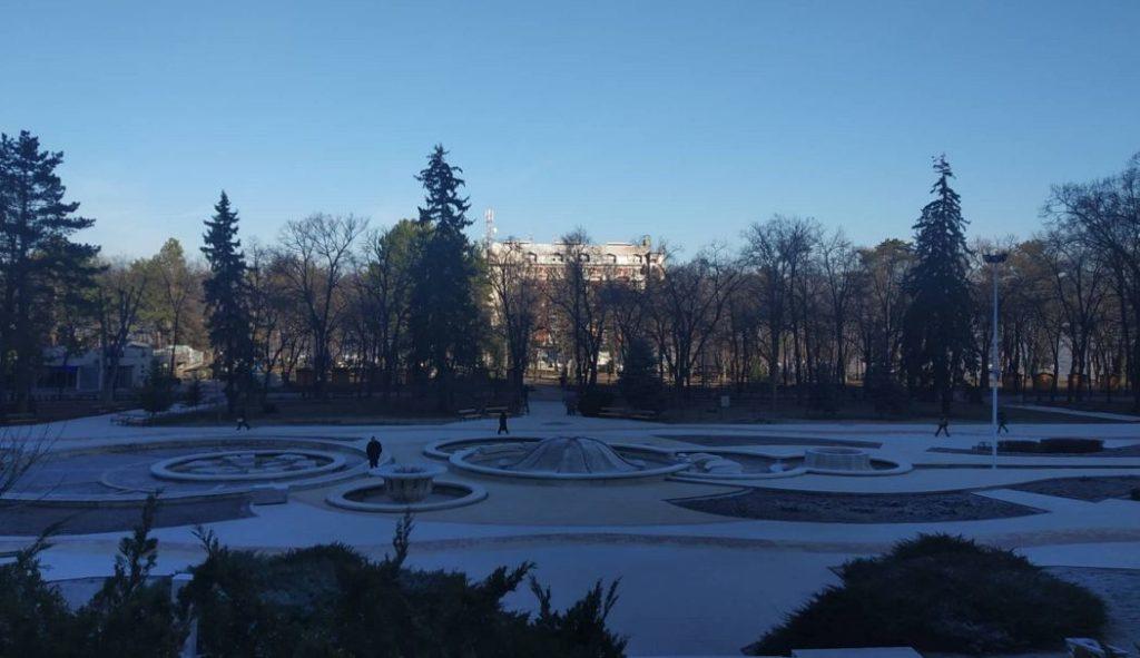 Trg sa fontanama u Niškoj Banji; Foto: Novinari Online