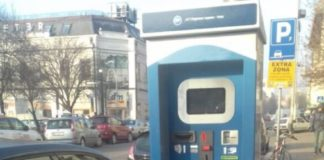 Parkomat u Ulici Nikole Pašića; Foto: Gradski portal