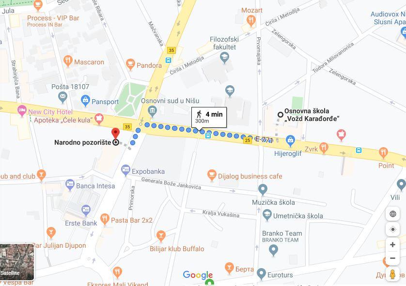 GOOGLE TRANSIT – od sada i GSP na Google mapama