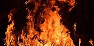 Požar, ilustracija