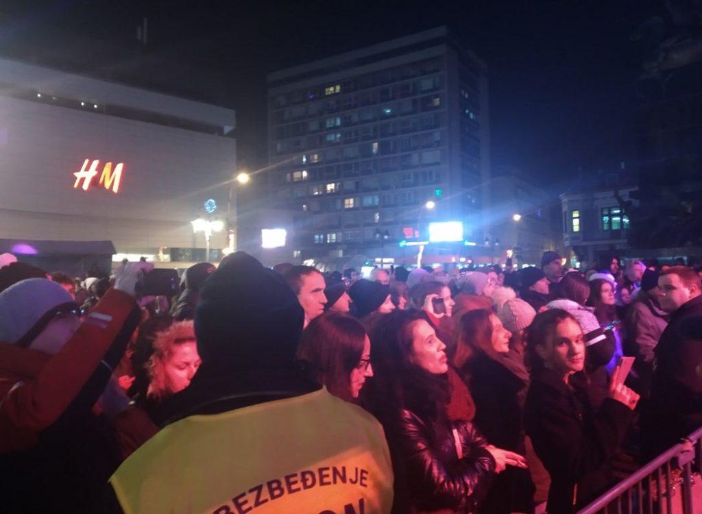 Željko Samardžić u Nišu; Foto: Novinari Online