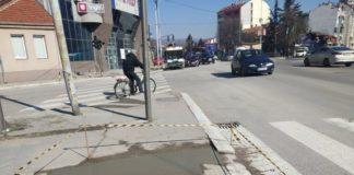 Jedan laki kilometar: Taktilne ploče u krugu od 1 km u centru Niša; Foto: Novinari Online