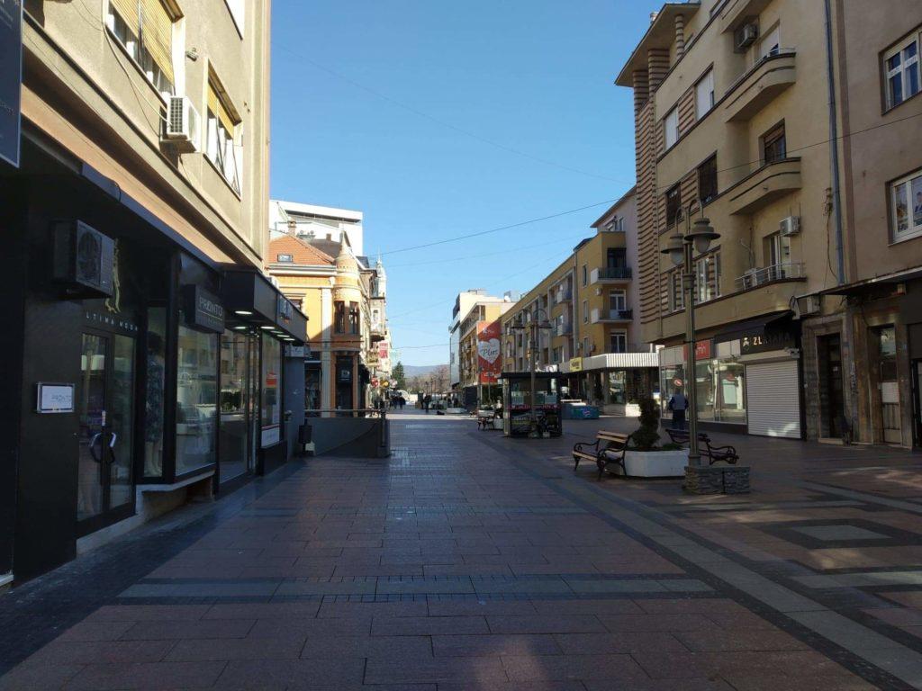 Obrenovićeva ulica Niš; Foto: Novinari Online