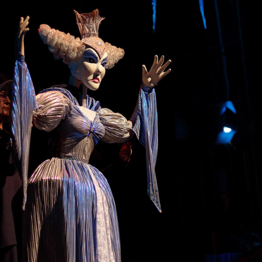 Snežna kraljica, predstava; Foto: Pozorište lutaka Niš