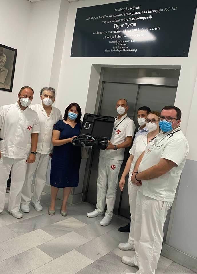 Klinika za kardiohirurgiju KC Niš dobila aparat za dijagnoastiku i lečenje plućnih bolesti