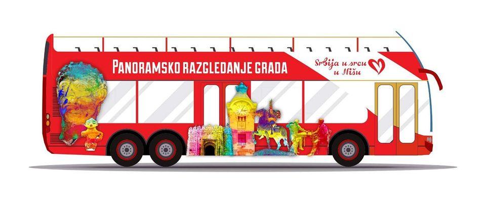 Panromaski autobus, Dani turizma u Nišu
