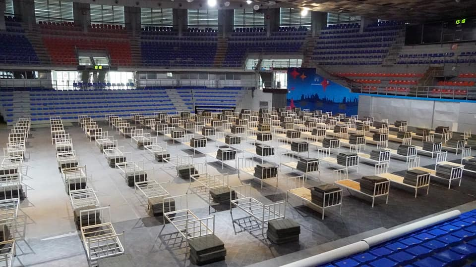 Opremanje hale Čair, foto: Kabinet gradonačelnika Niša